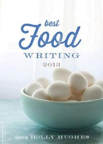 food writing small